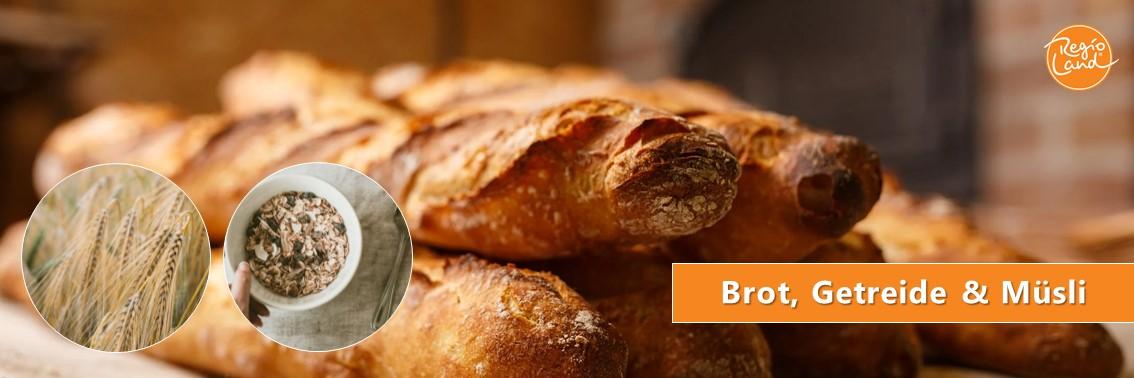 Brot, Getreide & Müsli